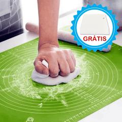 Tapete Culinário Antiaderente + Espátula Para Massa Grátis