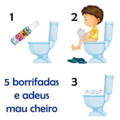 PooFresh Nº 3 - Óleo Bloqueador de Odores Sanitários - Pague 5 e Leve 6 Unidades de 70 ml