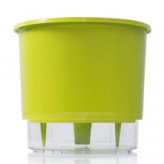 Vaso Autoirrigável Raiz - Médio - N03 - 14cm x 16cm